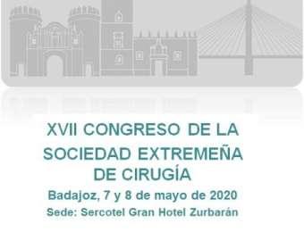 PROGRAMA PRELIMINAR XVII CONGRESO DE LA SOCIEDAD EXTREMEÑA DE CIRUGIA