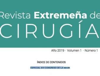 Importante! Número 1 de la Revista Extremeña de Cirugía